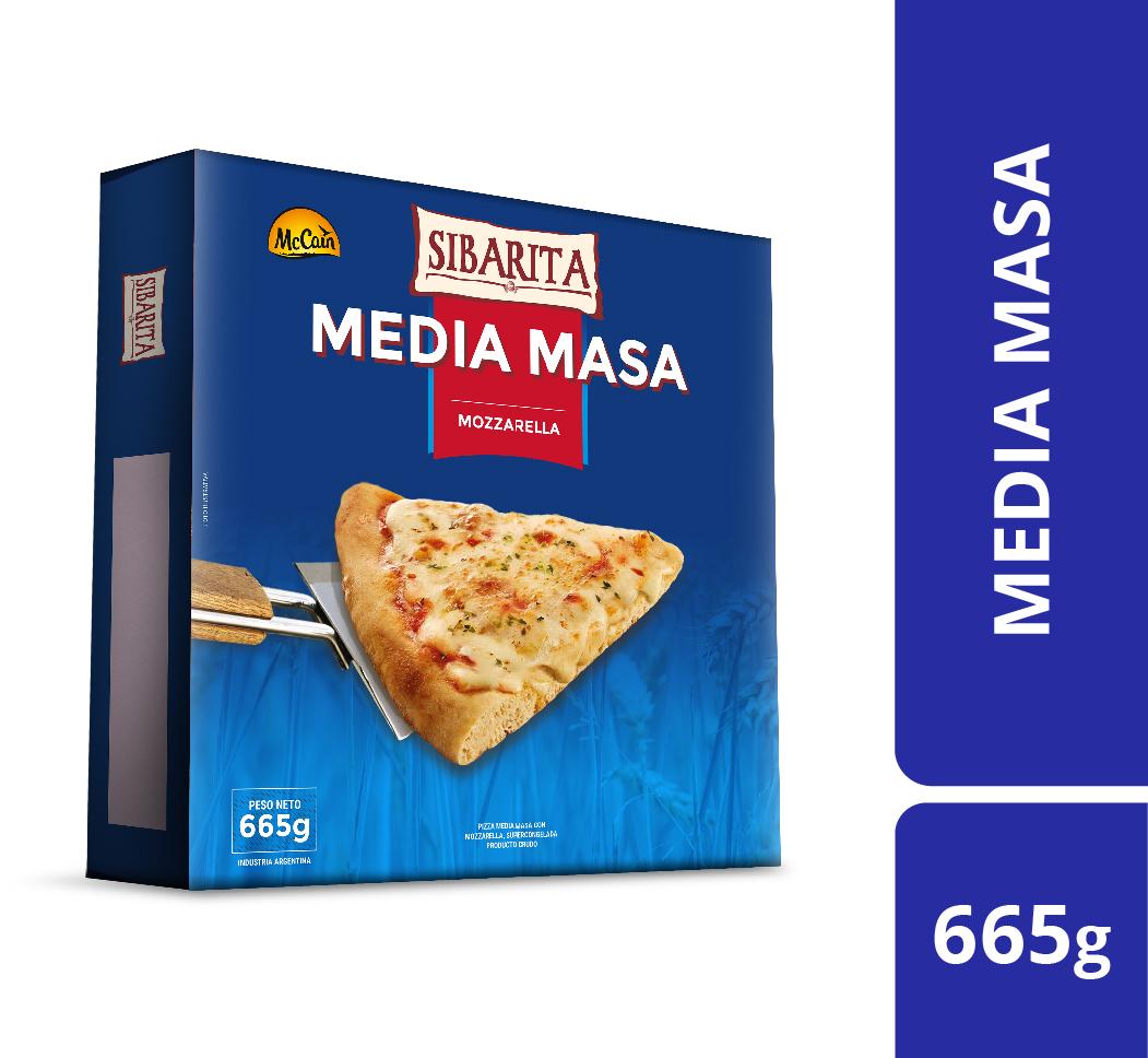 Pizza Media Masa 665g