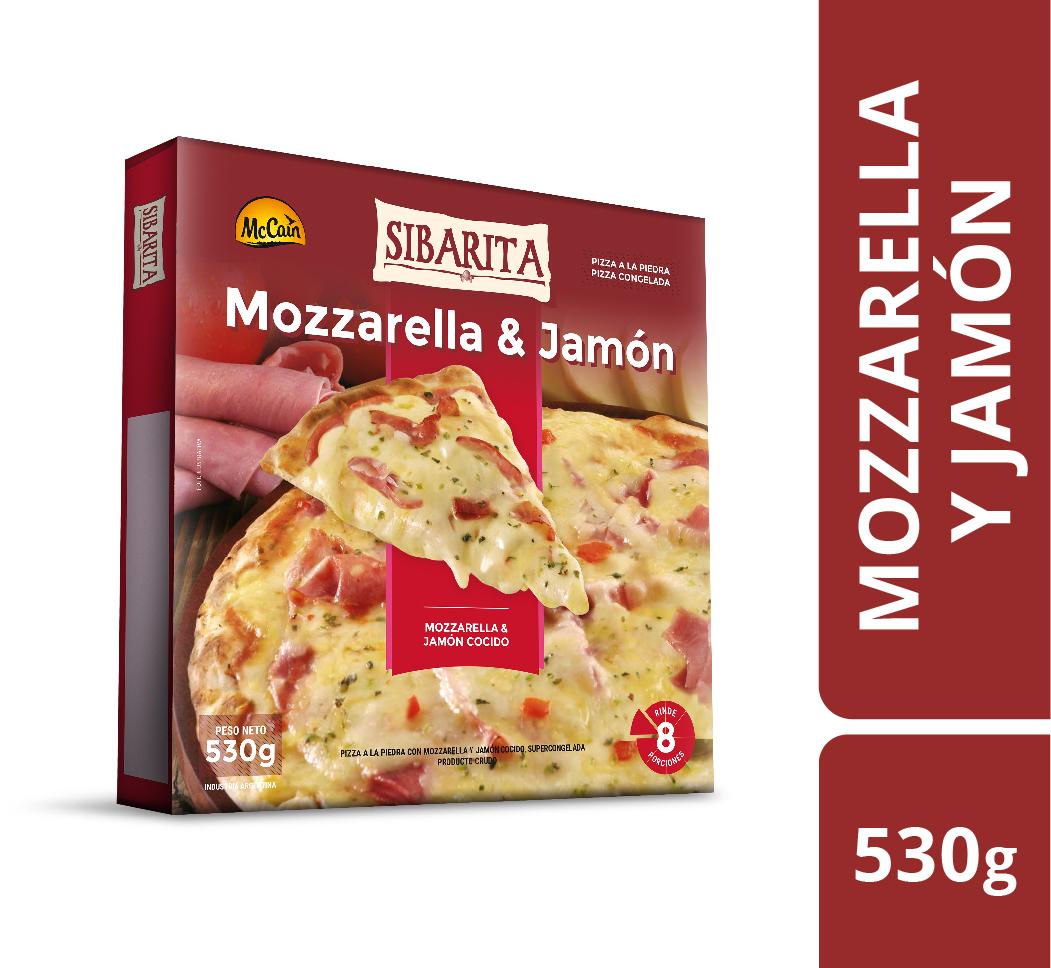 Pizza de Jamón 530g